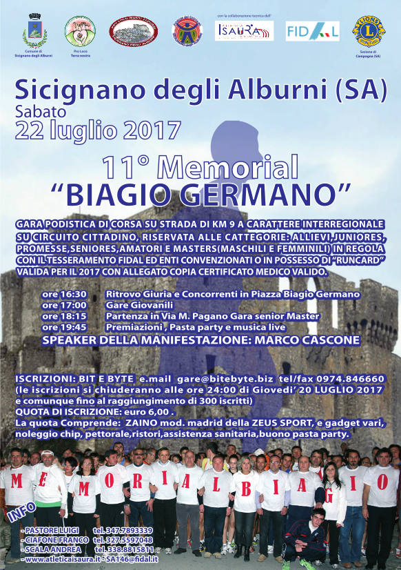 Memorial Biagio Germano - Sicignano