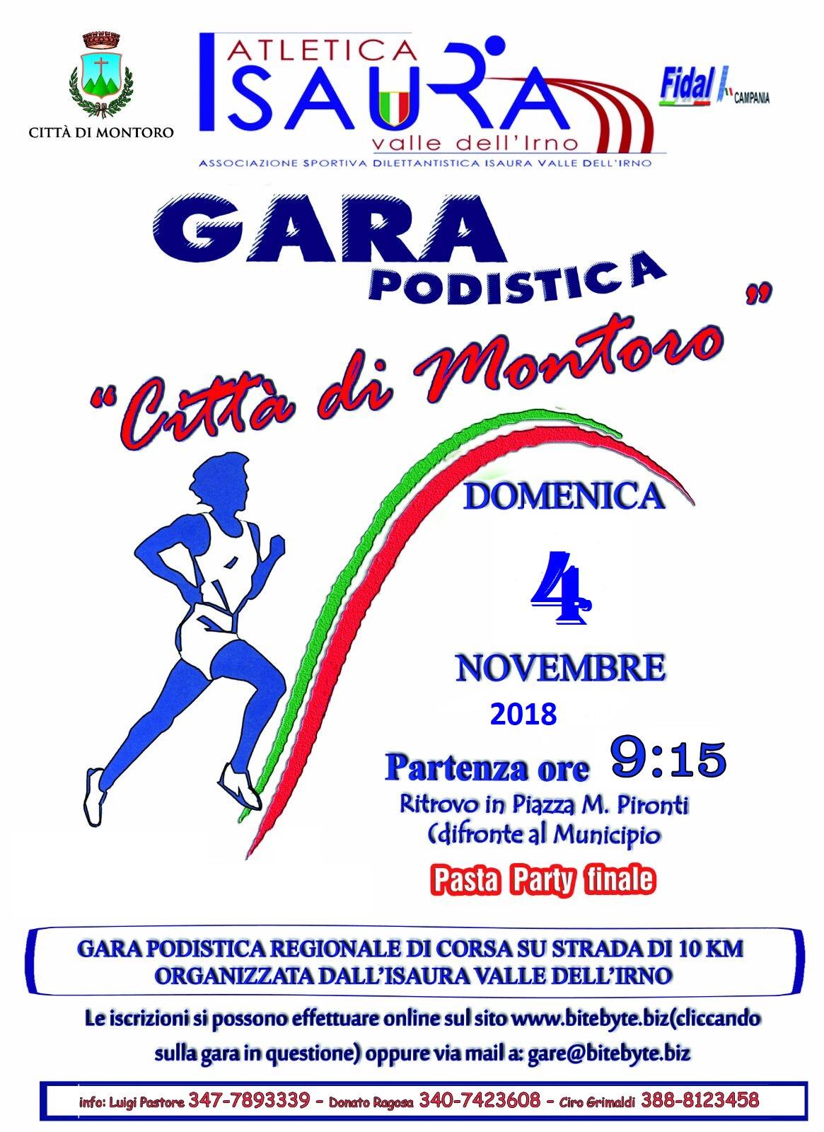 Trofeo Podistico Città di Montoro