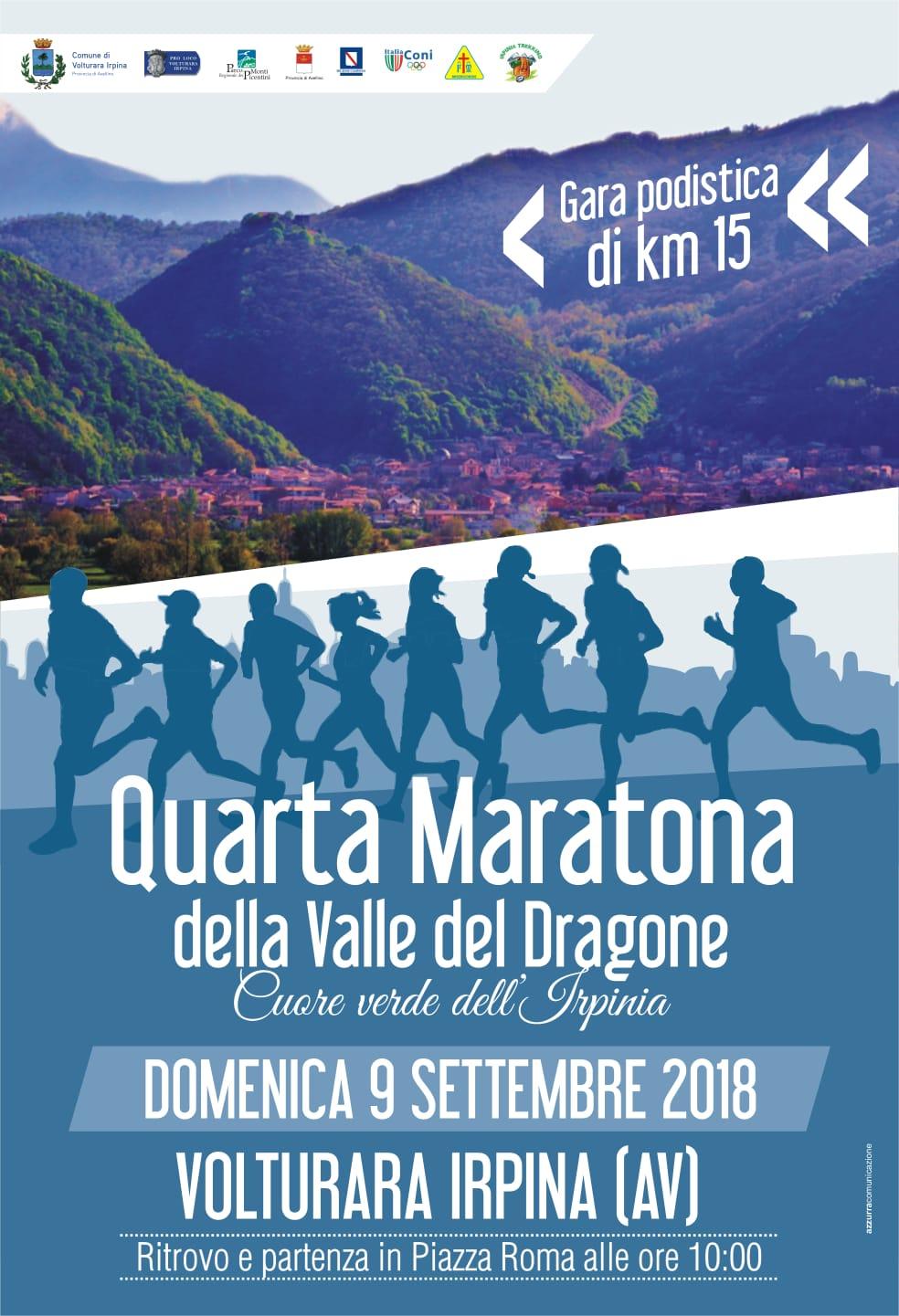 2018 - MARATONA DELLA VALLE DEL DRAGONE
