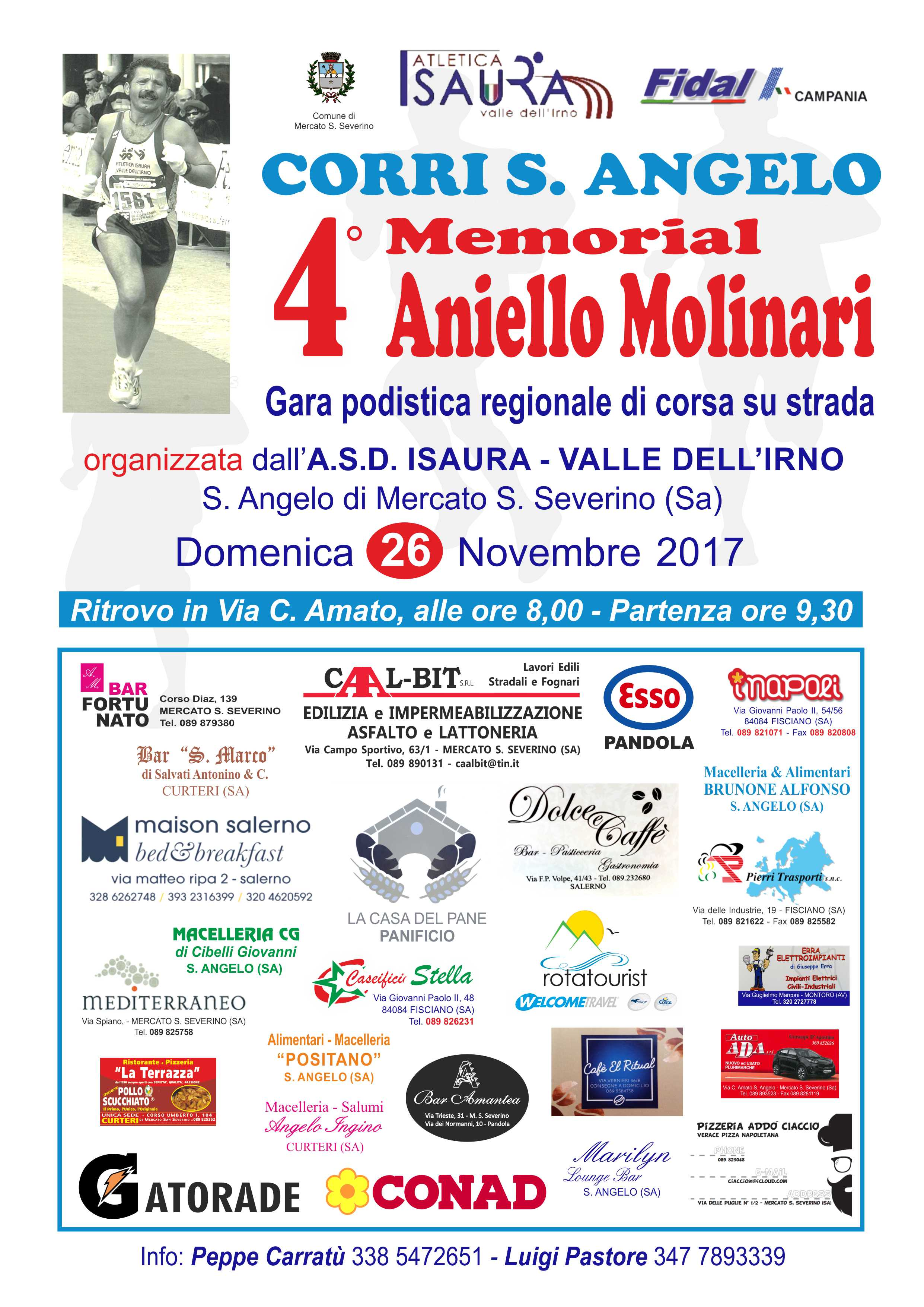 Memorial Molinari - Corri S.Angelo